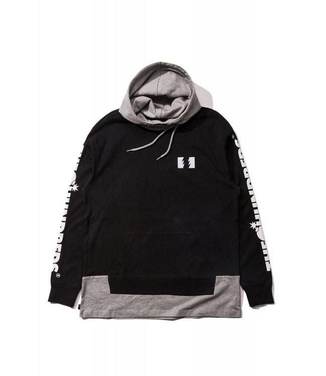 THE HUNDREDS Flip Hooded L/S Shirt