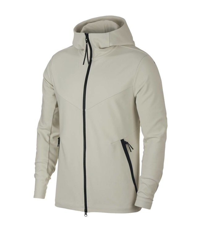 d76efd68c131 Nike Tech Pack Knit Full-Zip Hoodie - Light Bone Sail
