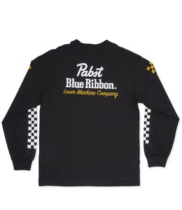 LOSER MACHINE X PBR FINISH LINE LONG SLEEVE TEE