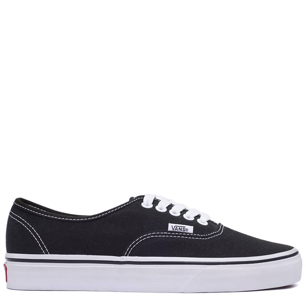 Vans Authentic ComfyCush Shoes - Black/White | VN0A3WM7VNE