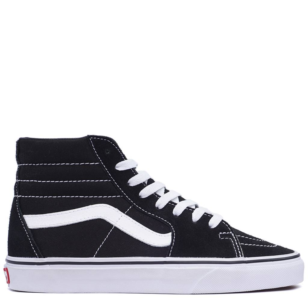 Vans SK8-Hi ComfyCush Shoes - Black White  d58ff39e6