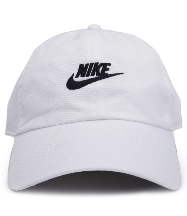 Nike NSW H86 Strapback Hat -White White Black  afb8b7f078ba