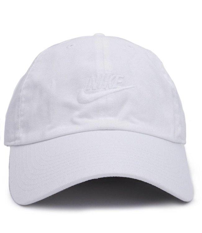 Nike NSW H86 Strapback Hat - White White White  e5c143f1ef6d