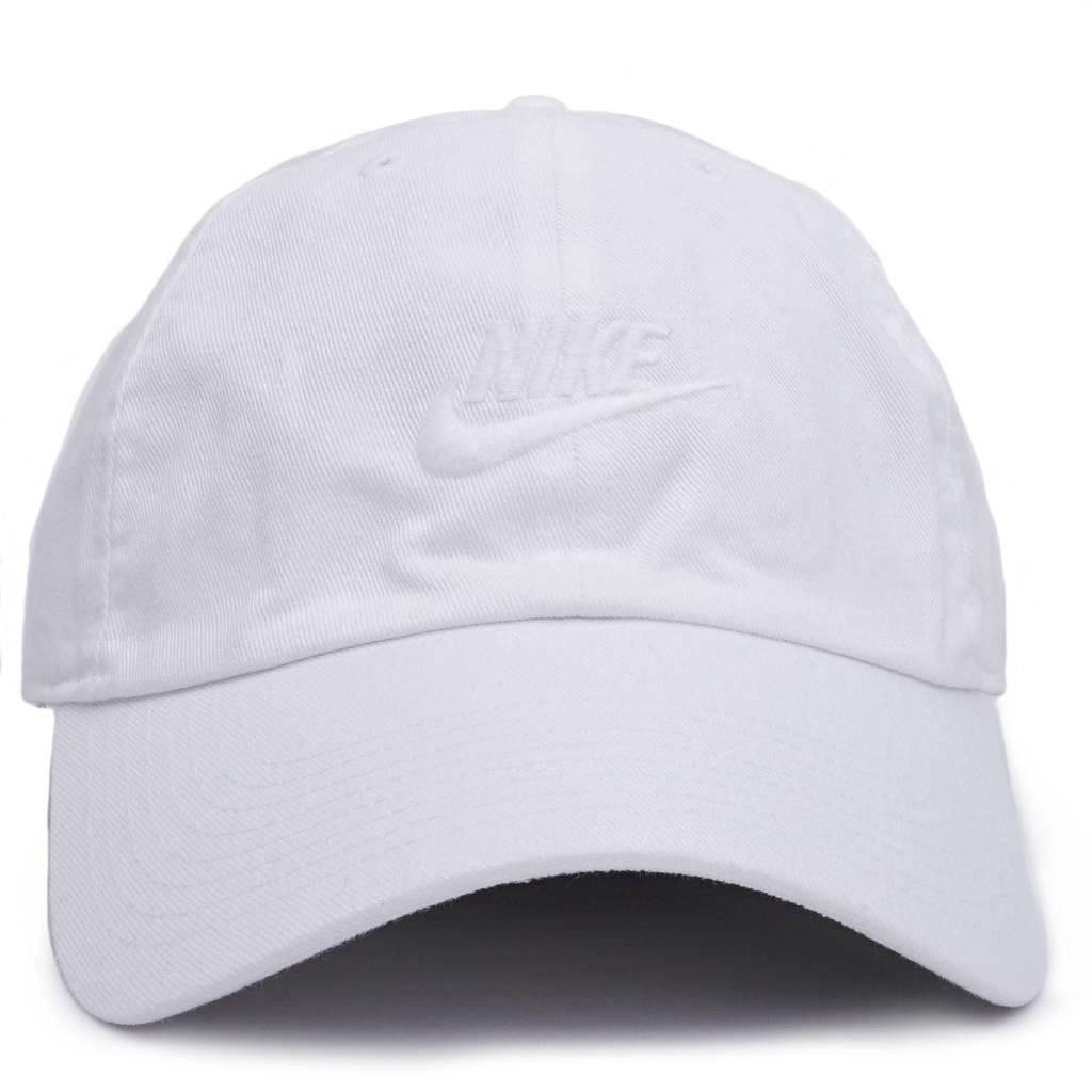 Nike NSW H86 Strapback Hat - White White White  cc2fb265b8d