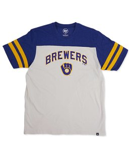 '47 BRAND BREWERS ENDGAME TRICOLORED CLUB TEE