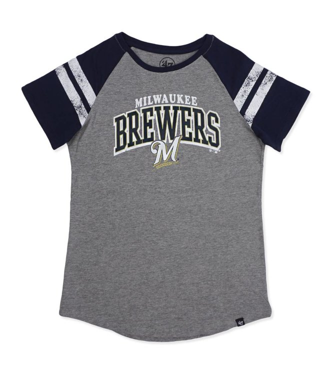 '47 BRAND Brewers Women's Fly Out Raglan