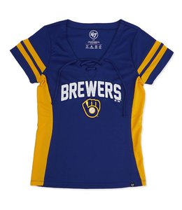 '47 BRAND BREWERS WOMENS TURNOVER V-NECK