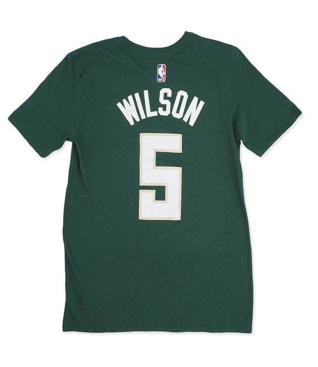 NIKE Bucks Wilson Name and Number Icon Jersey Tee