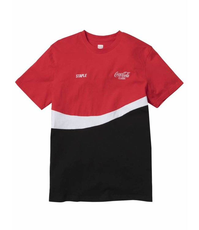 5451d021b1f60 Staple x Coca-Cola Wave T-Shirt - Red