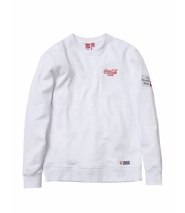STAPLE X COCA-COLA PIGEON EMBROIDERED CREW