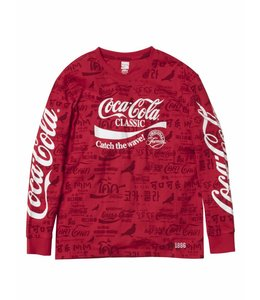 STAPLE X COCA-COLA ALL OVER LONG SLEEVE TEE