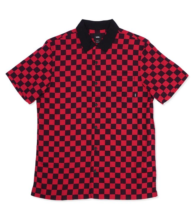 VANS Checker Camp Button-Up Shirt