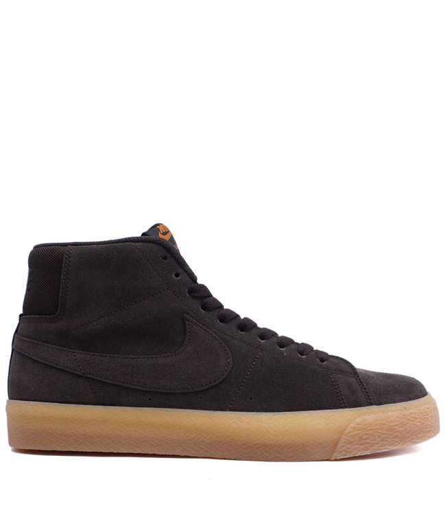 d8bb1bcd8a36 Nike SB Zoom Blazer Mid - Velvet Brown Cinder Orange