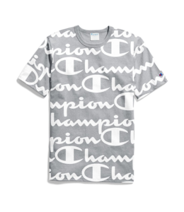 CHAMPION HERITAGE ALL-OVER TEE