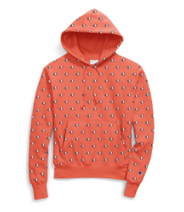 CHAMPION REVERSE WEAVE ALL-OVER PRINT PULLOVER HOODIE