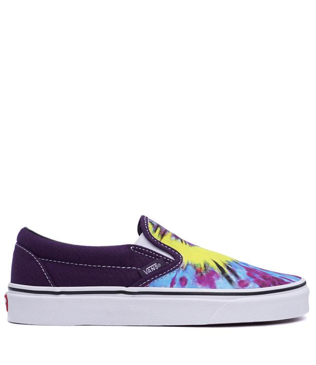 8abe66b4815aa9 Vans Classic Slip-On (Tie Dye) Shoes - Mysterioso True White - MODA3