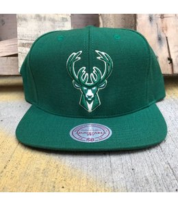 MITCHELL AND NESS CURRENT WOOL SOLID SNAPBACK