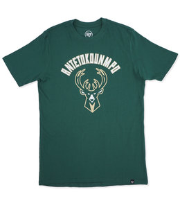 '47 BRAND BUCKS GIANNIS FRONT ARCH RIVAL TEE