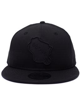 NEW ERA BUCKS STATE LOGO TONAL CAMO HAT