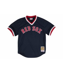 MITCHELL AND NESS RED SOX TED WILLIAMS 1990 AUTHENTIC BP JERSEY