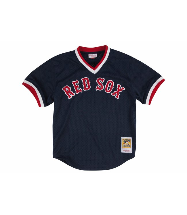 9e3ec012daf Mitchell   Ness Boston Red Sox Ted Williams 1990 Authentic BP Jersey ...
