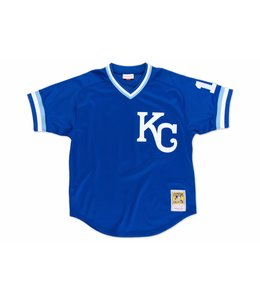 MITCHELL AND NESS ROYALS BO JACKSON 1989 AUTHENTIC BP JERSEY