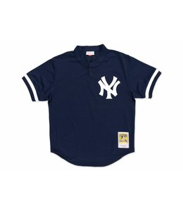 MITCHELL AND NESS YANKEES DON MATTINGLY 1995 AUTHENTIC BP JERSEY
