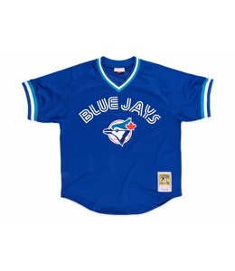 MITCHELL AND NESS BLUE JAYS ROBERTO ALOMAR 1993 AUTHENTIC BP JERSEY