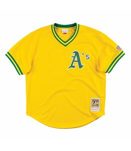 MITCHELL AND NESS A'S JOSE CANSECO 1990 AUTHENTIC BP JERSEY