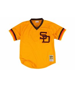 MITCHELL AND NESS PADRES TONY GWYNN 1982 AUTHENTIC BP JERSEY