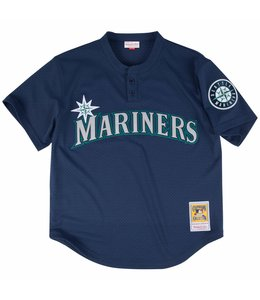 MITCHELL AND NESS MARINERS KEN GRIFFEY JR. 1995 AUTHENTIC BP JERSEY