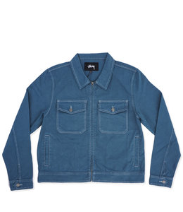 STUSSY OVERDYED GARAGE JACKET