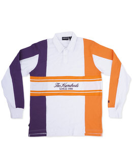 THE HUNDREDS WILLOW RUGBY POLO SHIRT