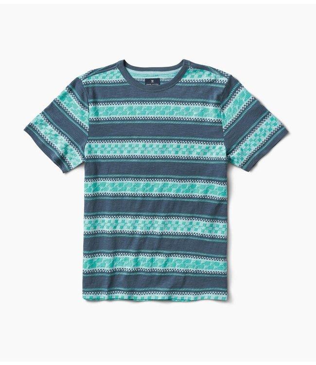 ROARK Yin Yang Stripe Knit Top