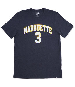 '47 BRAND MARQUETTE DWYANE WADE PLAYER TEE
