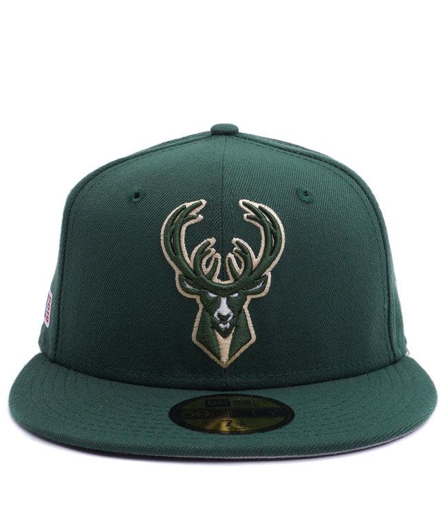 NEW ERA Bucks 2019 Playoffs 59Fifty Fitted Hat