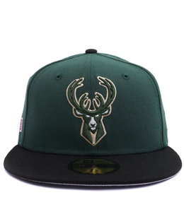NEW ERA BUCKS 2019 PLAYOFFS 59FIFTY FITTED HAT