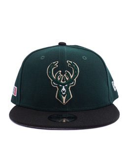 huge discount 142c4 82132 NEW ERA BUCKS KIDS 2019 PLAYOFFS 9FIFTY SNAPBACK