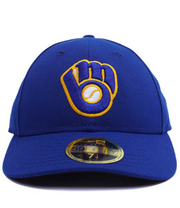 NEW ERA BREWERS AUTHENTIC LOW PROFILE 59FIFTY FITTED