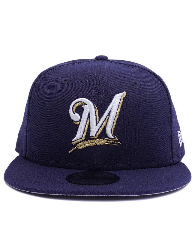 NEW ERA Brewers Basic 9Fifty Snapback Hat