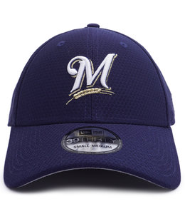 NEW ERA BREWERS BP 39THIRTY STRETCH FIT HAT