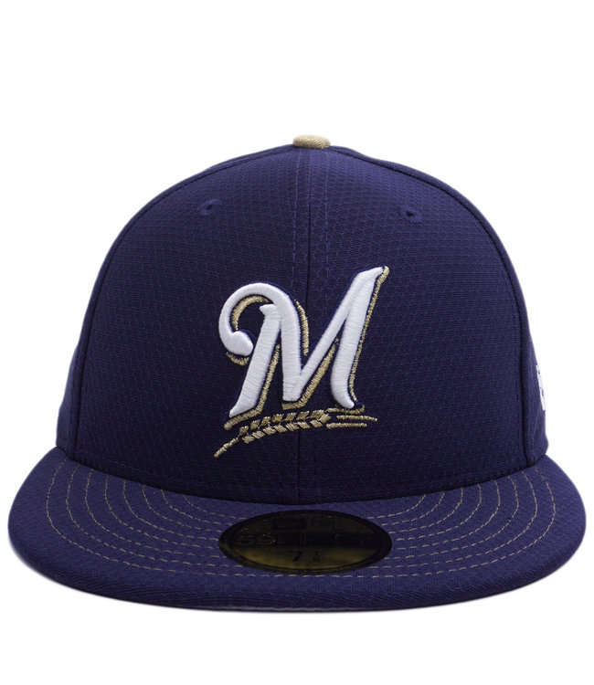 promo code 1357f 37e18 NEW ERA Brewers BP 59Fifty Fitted Hat