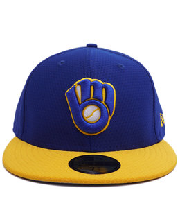 NEW ERA BREWERS BP 59FIFTY FITTED HAT
