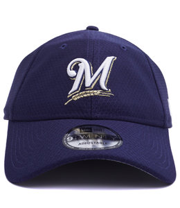 NEW ERA BREWERS BP 9TWENTY ADJUSTABLE HAT