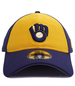 5b734ebe4cad07 New Era Milwaukee Brewers Core Classic 9Twenty Hat - Royal - MODA3