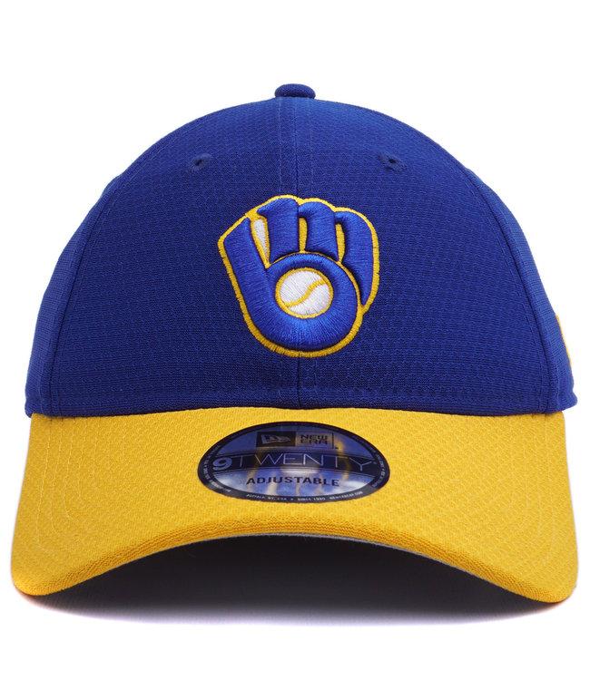 NEW ERA Brewers BP 9Twenty Adjustable Hat