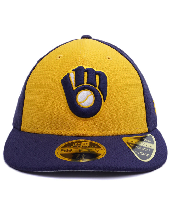 NEW ERA Brewers BP Low Profile 59Fifty Fitted Hat