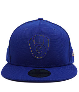 NEW ERA BREWERS CLUBHOUSE 59FIFTY FITTED HAT