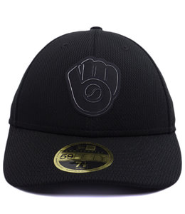 NEW ERA BREWERS CLUBHOUSE LOW PROFILE 59FIFTY FITTED HAT