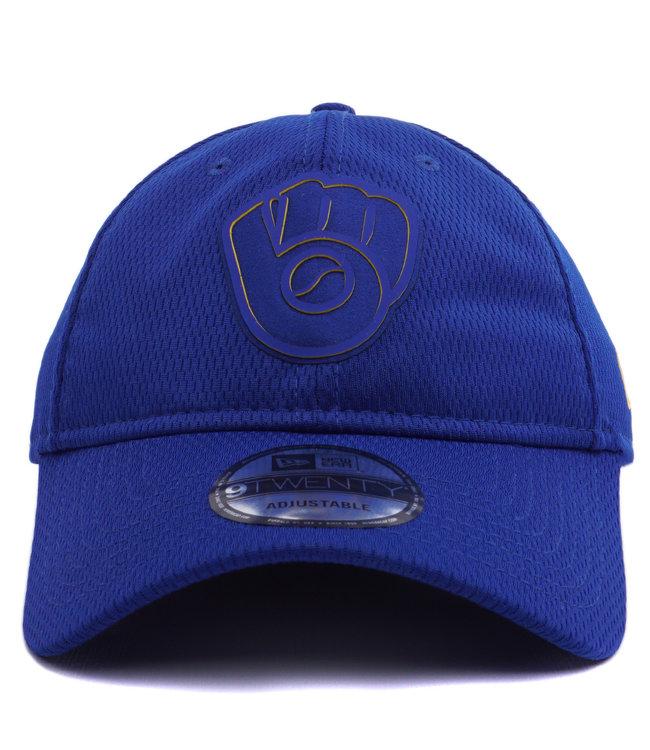 NEW ERA Brewers Clubhouse 9Twenty Adjustable Hat